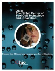 Ohio: The Global Center of Fuel Cell Technology and Innovation