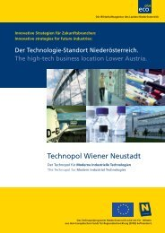 Technopol Wiener Neustadt - beim TFZ Wiener Neustadt