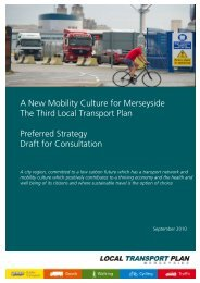 A New Mobility Culture for Merseyside The Third Local Transport ...