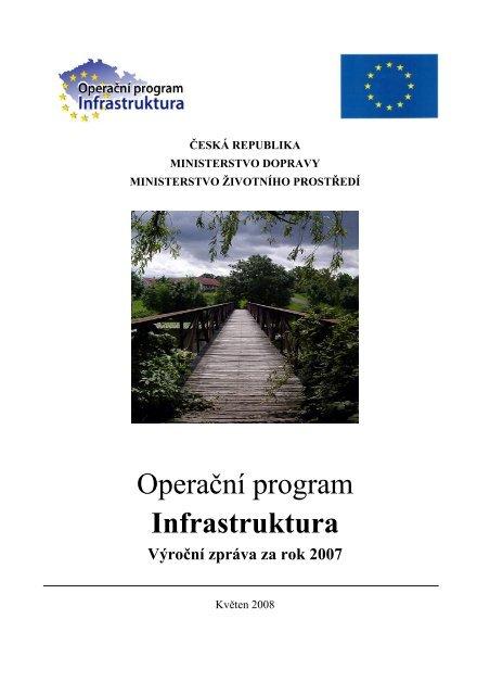 Výroční zpráva OPI za rok 2007 - Státní fond životního prostředí