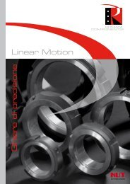Linear Motion Ghiere di precisione - Romani Components
