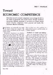 Toward Economic Competence - ASCD