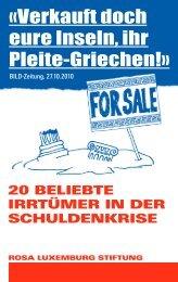 «Verkauft doch eure Inseln, ihr Pleite-Griechen!» - NachDenkSeiten