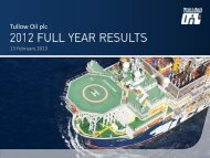 Tullow Oil plc - The Group