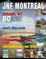israel & jnf - Jewish National Fund Montreal