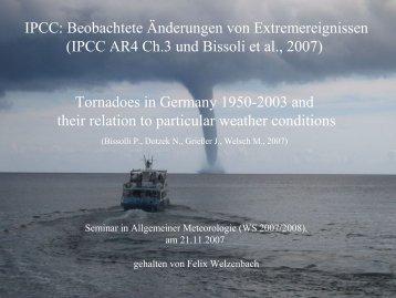 in IPCC 2007 - Wetteran