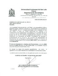 032 - Universidad Autónoma de San Luis  Potosí