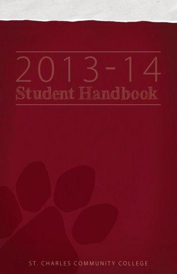 Student Handbook (PDF) - St. Charles Community College