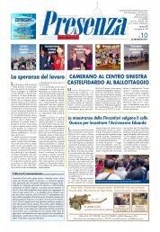 Presenza n. 10 del 22/5/2011 - Arcidiocesi di Ancona-Osimo