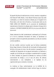 Resolución de apoyo de CCOO Cádiz a José Manuel Trillo y Juan ...