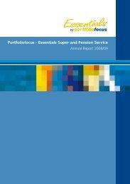 Essentials Super & Pension Annual Report