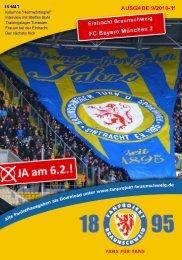 Heft 09: FC Bayern München II - FanPresse Braunschweig