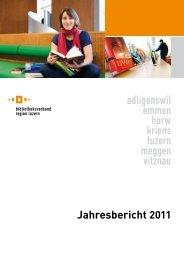 Jahresbericht 2011 - Stadtbibliothek Luzern