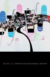SALINA ART CENTER 2008/2009 ANNUAL REPORT