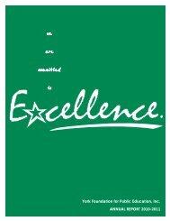 2010-11 YFPE Annual Report - York County Schools