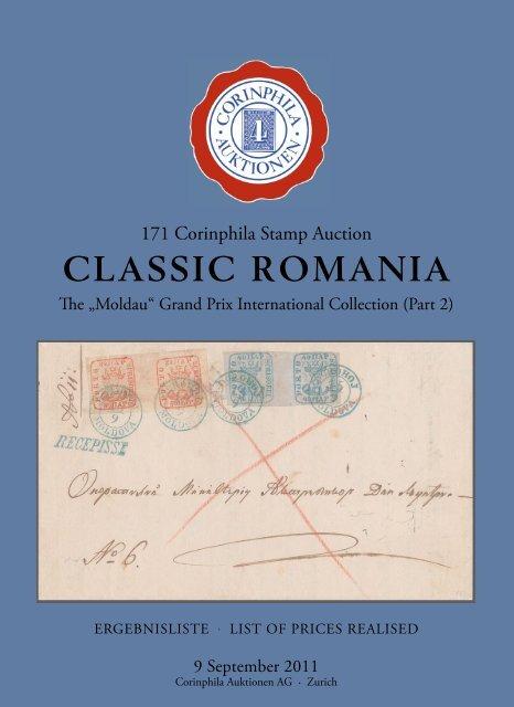 CLASSIC ROMANIA - Corinphila Auktionen AG