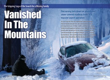 Vanished In The Mountains - ZMAN Magazine