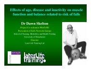 PDF of Presentation - Later Life Training