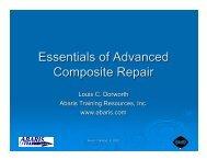 Essentials of Advanced Composite Repair