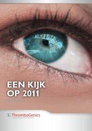 EEn kijk op 2011 - ThromboGenics