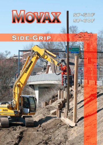 Side-Grip Sheet Piler - Movax