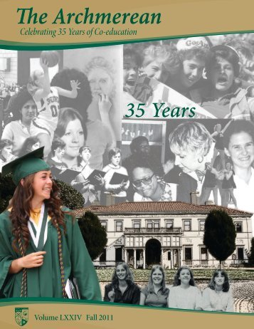 Fall 2011 Issue - Archmere Academy