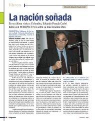 Libros: Entrevista a Eduardo Posada Carbó. - Revista Perspectiva