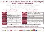 Von 8. bis 10. Mai 2009 verwandelt sich der Wiener Stadtpark in ...