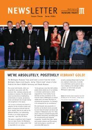 Wellington Museums Trust newsletter June 2004
