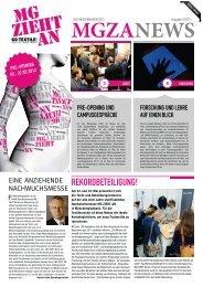Messezeitung 1 - MG ZIEHT AN