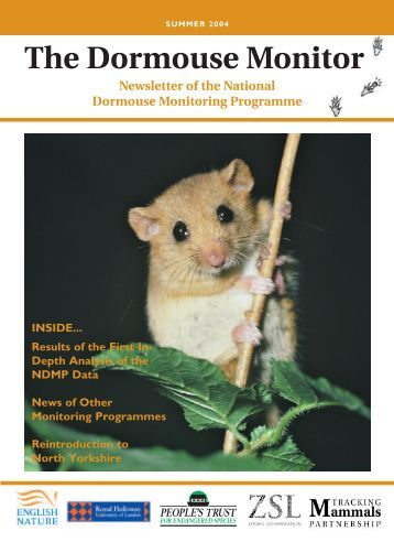 The Dormouse Monitor April 04 - People's Trust for Endangered ...
