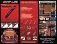 Snap-Loc Product Brochure (2013)