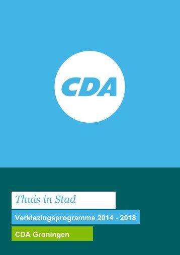 CDA_verkiezingsprogramma_2014-2018