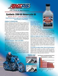 MCV - Synthetic 20W-50 Motorcycle Oil - Synpsg