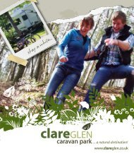 Download Clare Glen Caravan Park Brochure