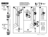 Installation Instructions - Hoover Fence