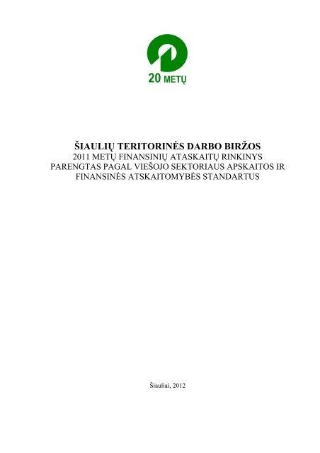 Siauliu_TDB - Lietuvos darbo birža