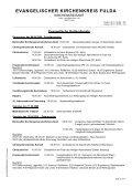 EVANGELISCHER KIRCHENKREIS FULDA - Kirchenkreisamt Fulda - Page 2