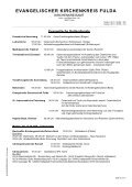 EVANGELISCHER KIRCHENKREIS FULDA - Kirchenkreisamt Fulda - Page 3