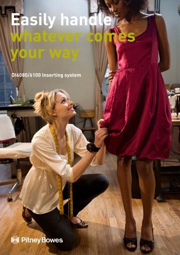 Download DI6080/6100 Brochure - Pitney Bowes