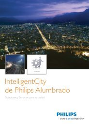 Solución Intelligent City - Philips
