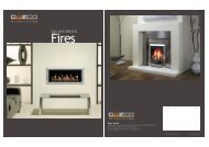 Gas and Electric - Lamartine Fireplaces
