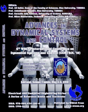 ADVANCES in DYNAMICAL SYSTEMS and CONTROL - Wseas.us