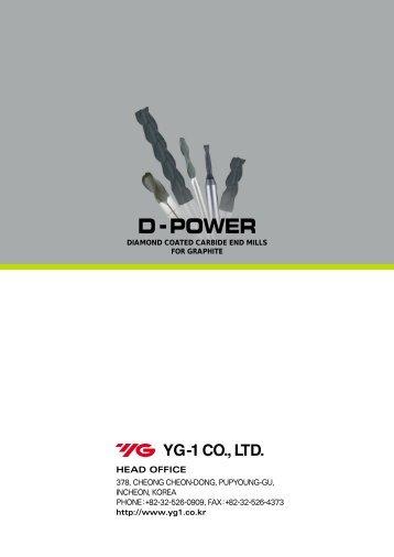 d-power diamond coated carbide end mills for graphite - lubtek.ro