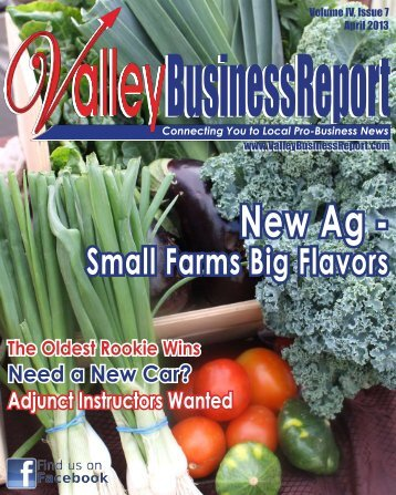 April 2013 - Valley Business Report