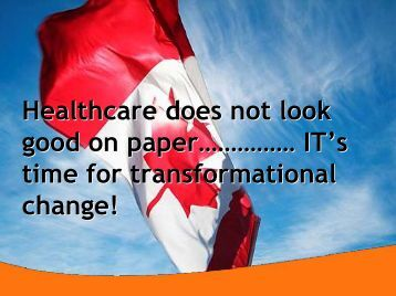 Healthcare does not look good on paper ... - HIMSS AsiaPac