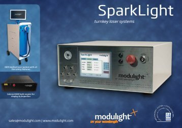 SparkLight flyer - Modulight