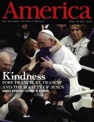 THE NATIONAL CATHOLIC WEEKLY APRIL 29, 2013 $3.50 - Jesuit