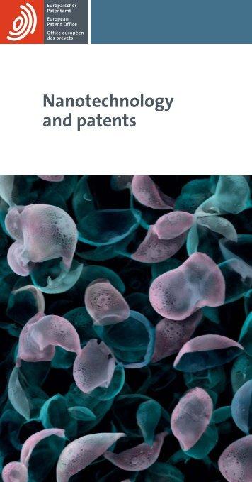 Nanotechnology and patents