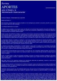 Políticas Públicas: Transparencia en su Gestión - Asociación de ...